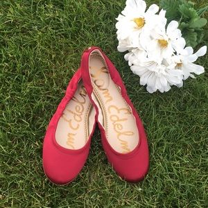 Cranberry Rose Gold Ballerina Flats